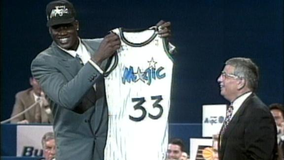 On this date: Shaq selected No. 1 in '92 NBA draft