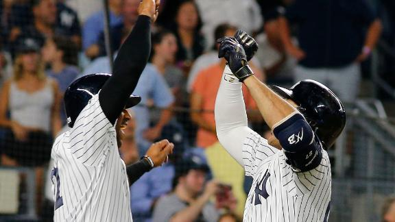 Yankees power past Blue Jays with 7-run inning