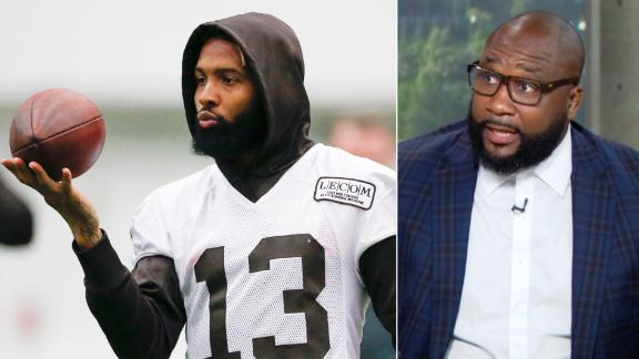 Spears: Cleveland is perfect city for OBJ to focus solely on football