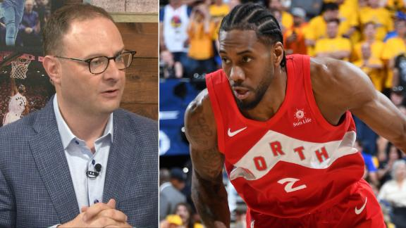 Woj: Kawhi keeping his eye on the Lakers