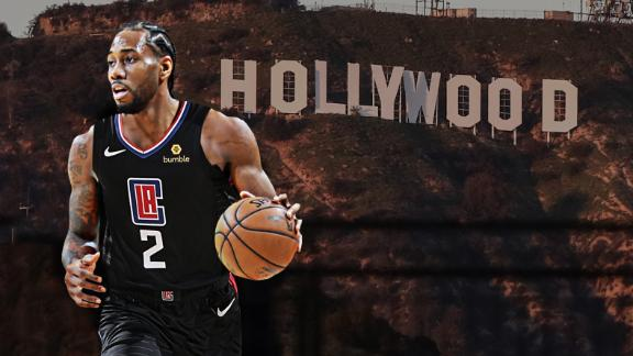 Kawhi would put Clippers in title talks