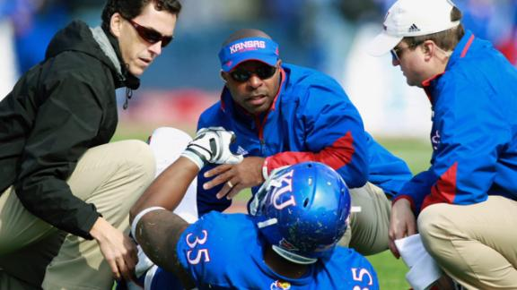 The pressures and influences facing college athletic trainers