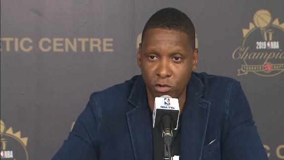 Ujiri: 'For me, it's always been about Toronto'