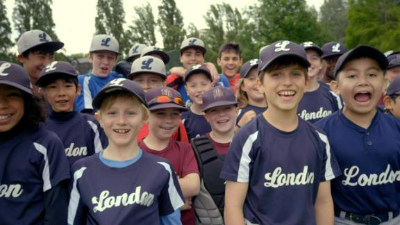 Little league baseball makes its way to London