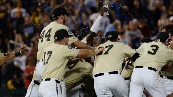 Hickman's dominating outing fuels Vandy to CWS title