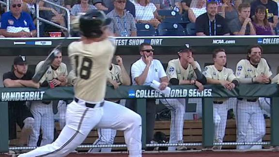Vandy's DeMarco ties game with homer