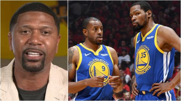 Jalen has a problem with Warriors handling of KD, Iguodala injuries
