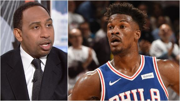 Stephen A.: 76ers should try to keep Butler