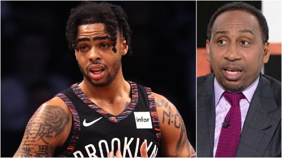 Stephen A. likes Russell's fit with Lakers