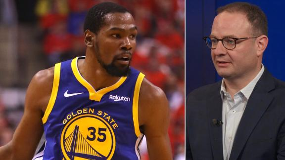 Woj: Durant in no rush to choose team in free agency