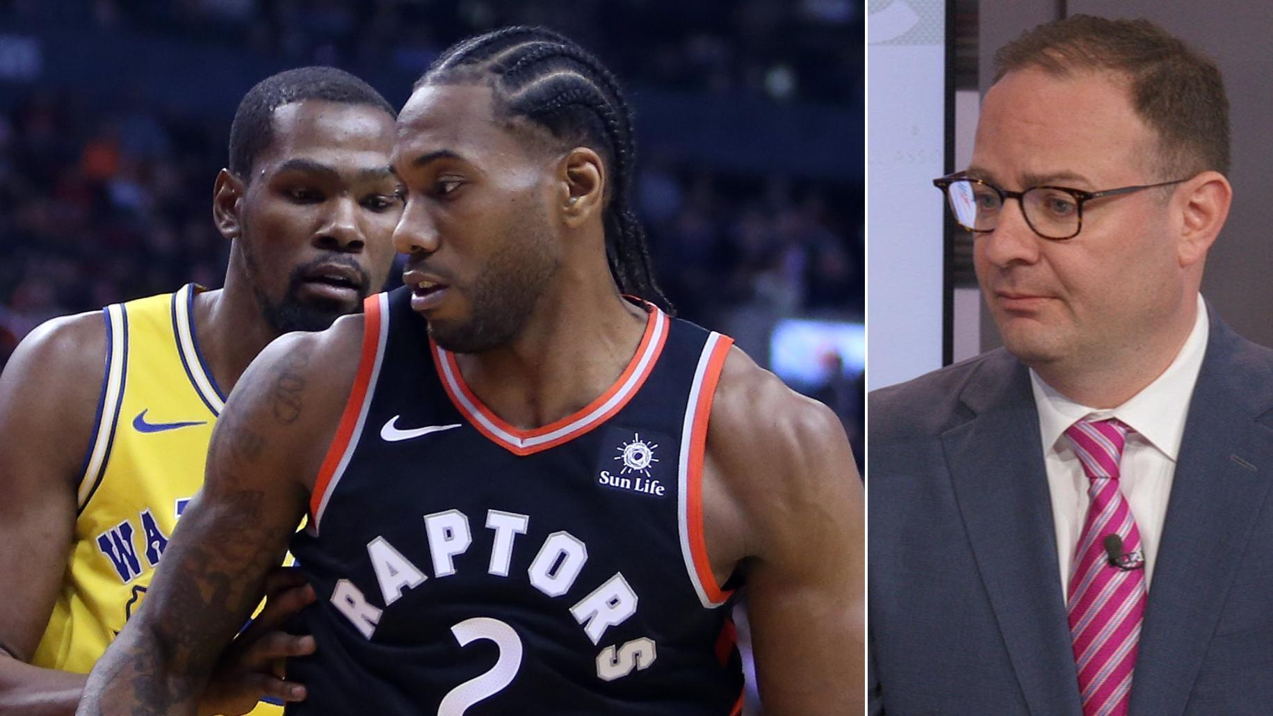 Woj: Kawhi, KD have had talks about teaming up