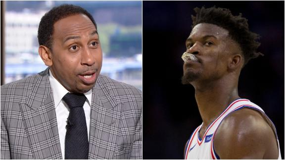 Stephen A. wishes Butler stayed in Philly