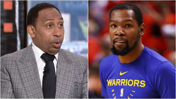 Stephen A.: KD passed on two better teams
