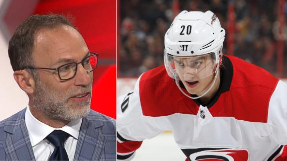 Canadiens tender offer sheet for Hurricanes' Aho