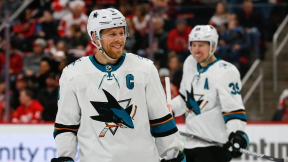 Pavelski joining Stars with 3-year deal