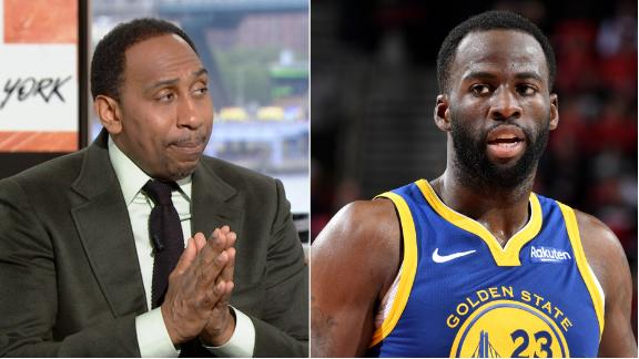 Stephen A.: Warriors should extend Draymond immediately