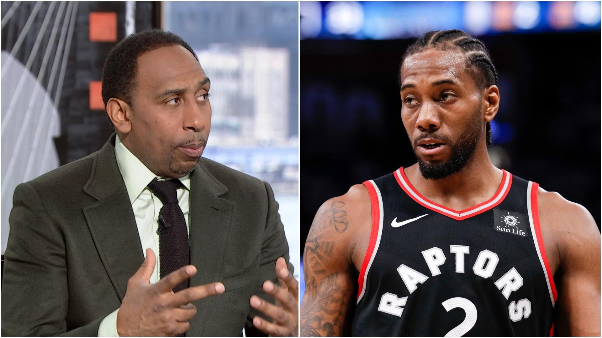 Stephen A.: Kawhi joining Lakers would be a 'weak move'