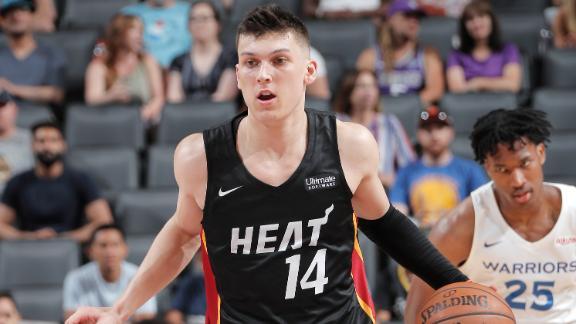 Herro drops 20 as Heat beat Warriors