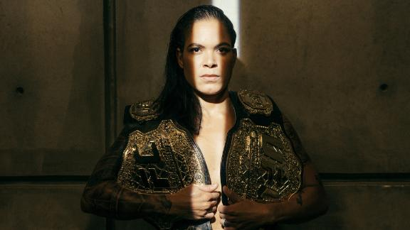 Behind the scenes of Amanda Nunes' Body Issue shoot