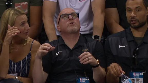 Earthquake halts Pelicans-Knicks summer league game
