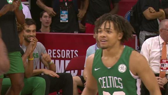 Edwards Scores 20 In Celtics Win Espn Video Espn