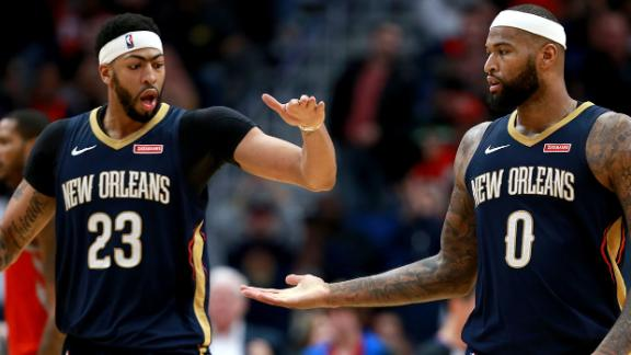 Boogie loved to feed alley-oops to AD in New Orleans