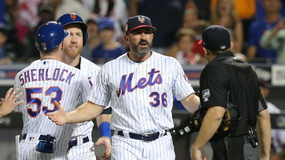 Frazier, Callaway ejected in Mets' win over Phillies