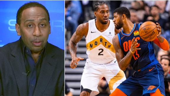 Stephen A. can't decide between L.A. teams for NBA title
