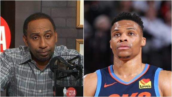Stephen A.: I don't believe everything is Westbrook's fault