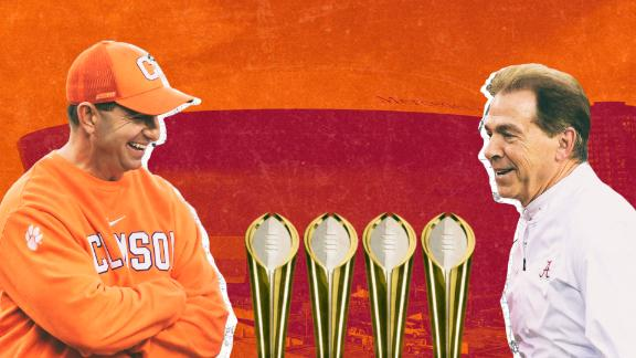 Clemson and Alabama have become equals