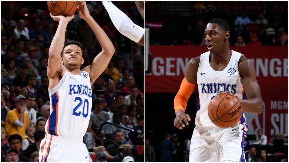 Knox, Barrett combine for 46 in Knicks' win