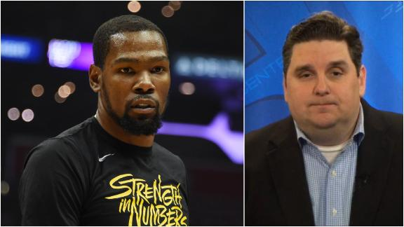 Windhorst: KD forced Warriors to add 1st rounder in sign and trade with Nets