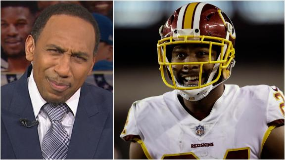 Stephen A. very critical of Norman jumping over a bull