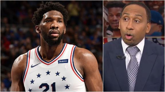 Stephen A. likes 76ers to win the East