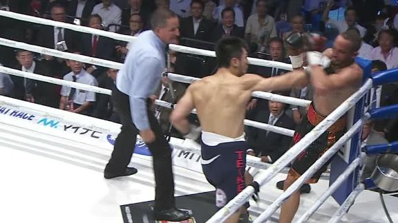 Murata knocks down Brant midway through Round 2