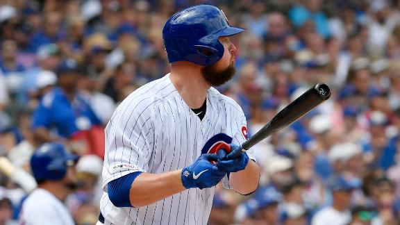 Lester records 3 RBIs with single and HR
