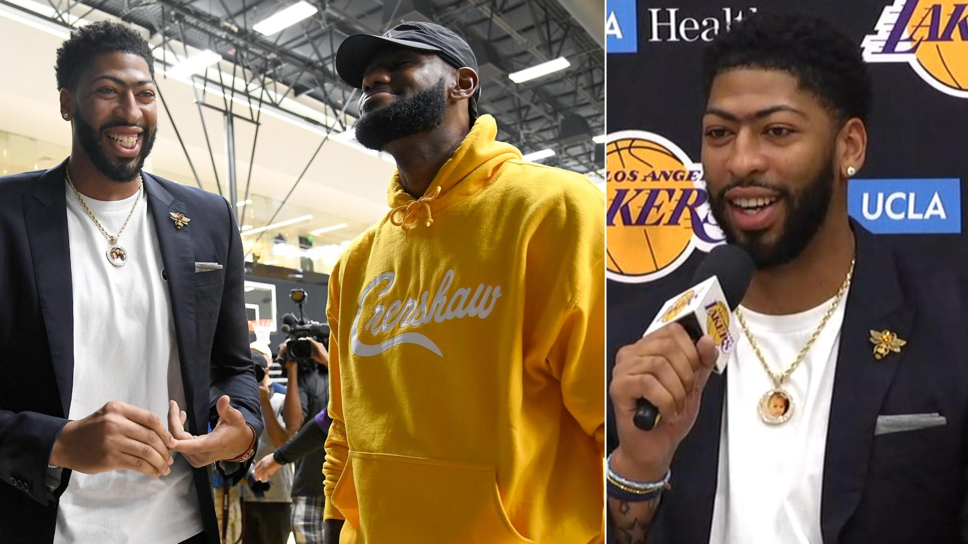 AD excited to play alongside LeBron