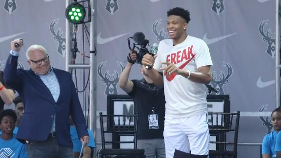 Giannis: Don't call me MVP again until I win it next year