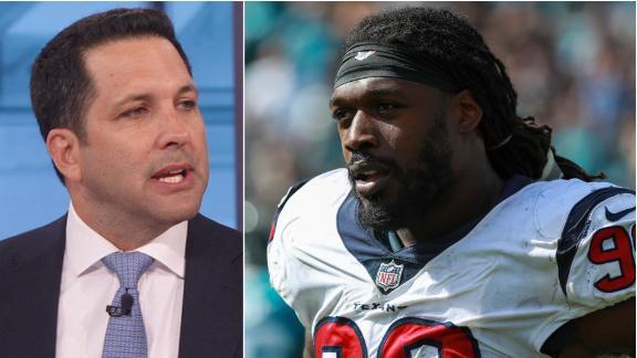 Schefter: Clowney won't get long-term extension from Texans