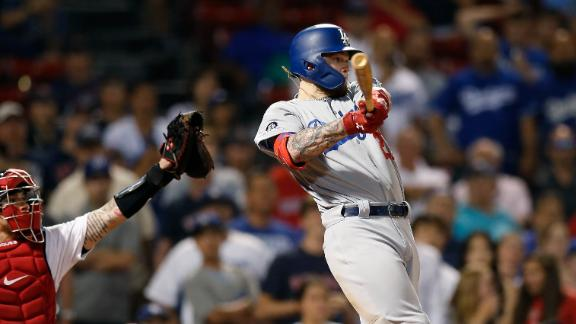 Dodgers score 3 in 12th to top Red Sox