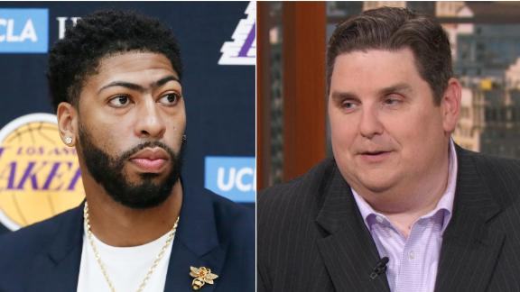 Windhorst: Davis, Lakers should avoid underdog's mentality