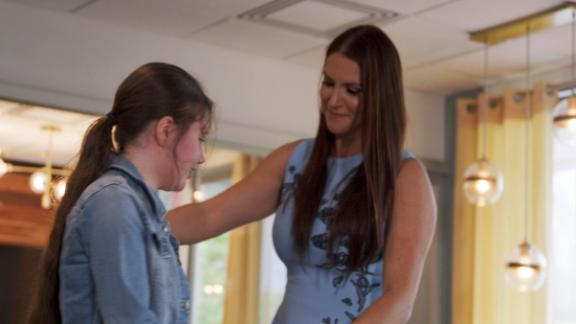 Stephanie McMahon, WWE make girl's dream come true