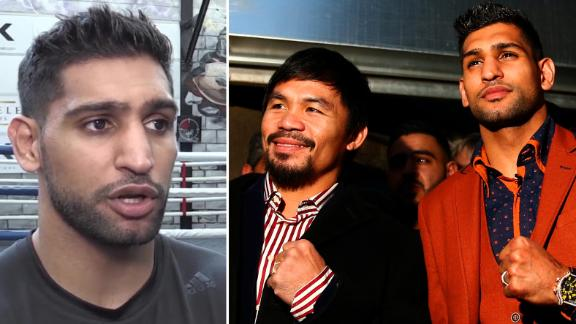 Khan claims fight with Pacquiao is a done deal