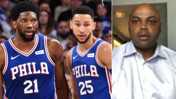 Barkley has advice for Embiid and Simmons