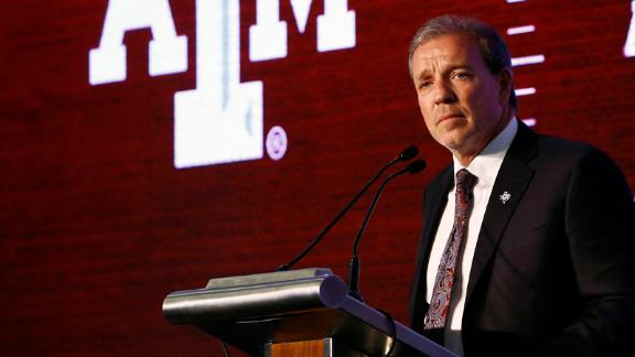 Fisher lays foundation for Aggies