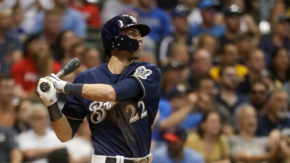 Yelich crushes grand slam to blow game open for Brewers
