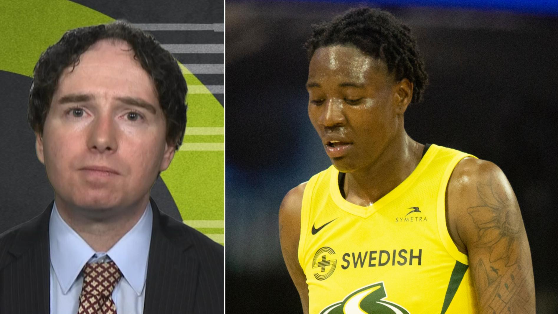 McCann: WNBA's lack of a domestic assault policy a 'glaring issue'