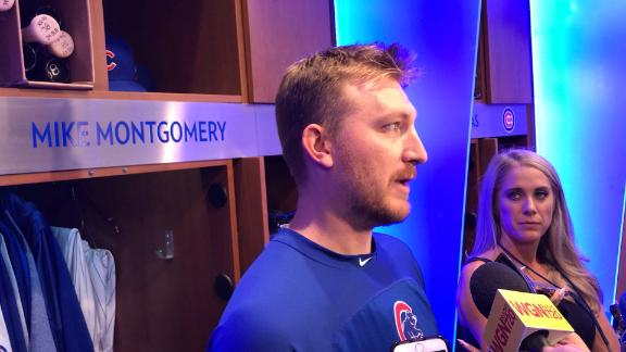Montgomery proud of what he accomplished with Cubs