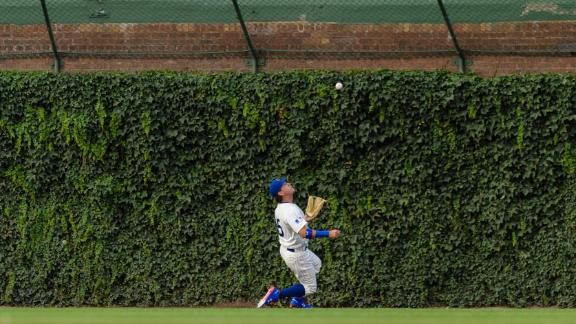 Almora slides to make incredible catch