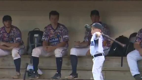 6-year-old coach gets ejected at MiLB game